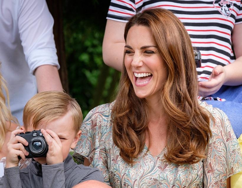 Кейт Миддлтон посетила семинар по фотографии в Лондоне