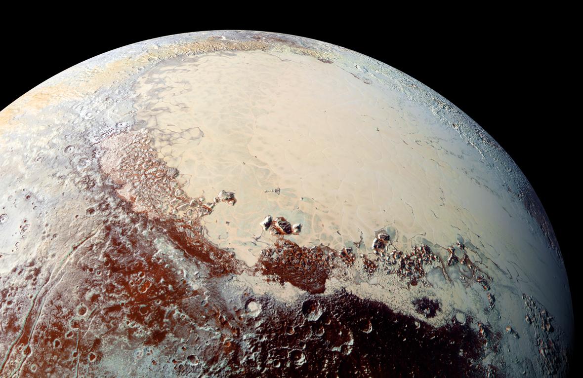 Плутон - это новый Марс, - NASA