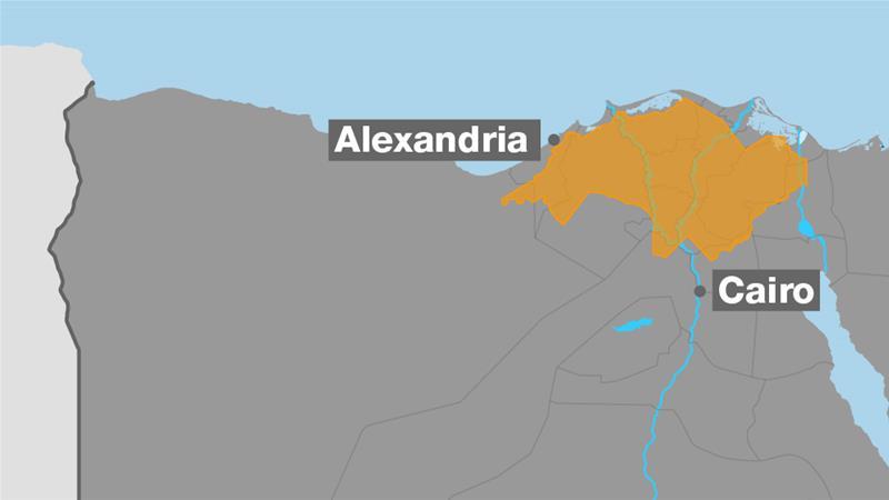 В Египте столкнулись пассажирский и грузовой поезда