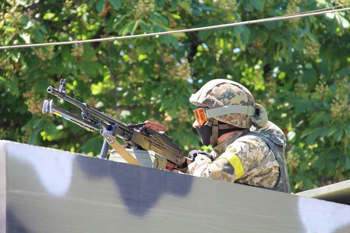 АТО: Враг выпустил около сотни 120-мм мин по Зайцево