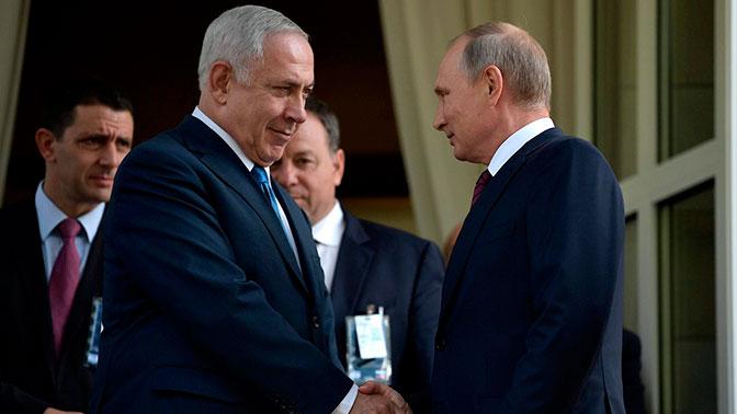 Кремль прокомментировал план по Сирии, который Нетаньяху якобы передал П...