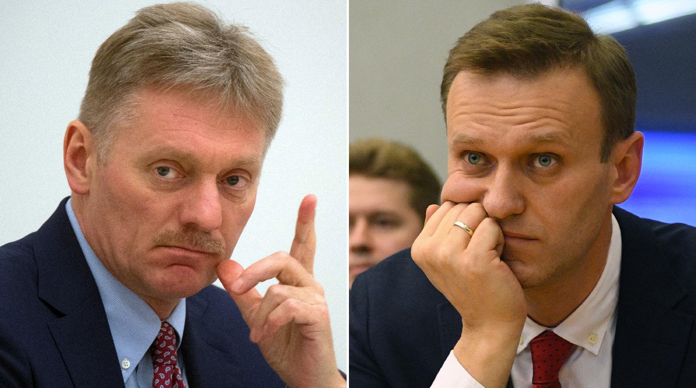 Кремль отреагировал на отравление Навального