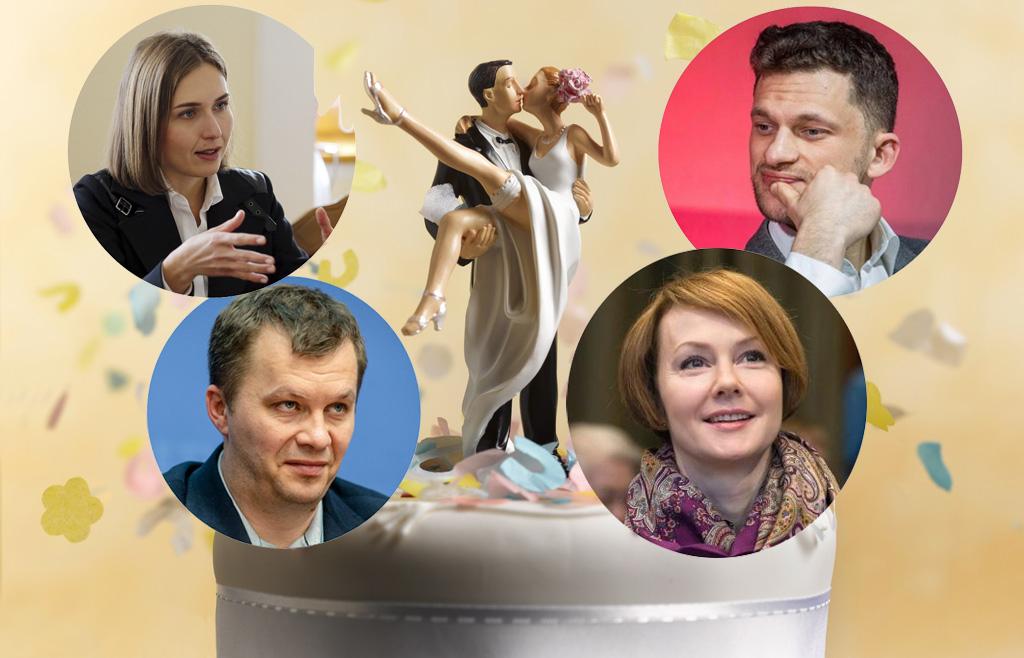 И Кива с ними. 20 самых завидных женихов и невест в украинской политике