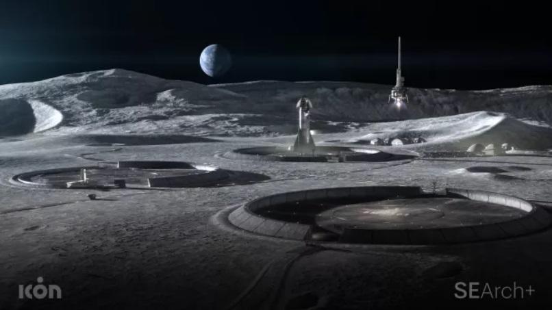 Стартап из Техаса собирается застроить Луну и Марс 3D-печатными домами