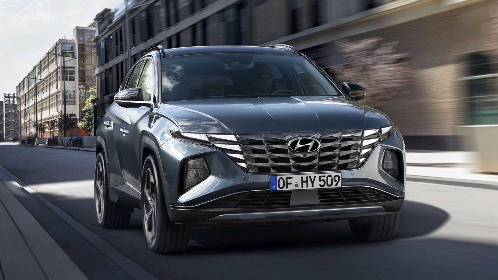 Hyundai представил обновленную версию Tucson