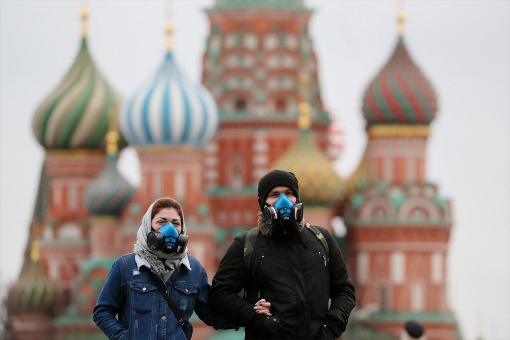 Число случаев заражений коронавирусом в РФ превысило пол миллиона
