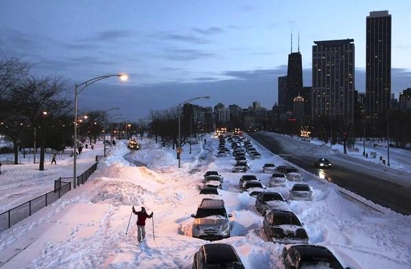 Лютые морозы пришли в США: в Чикаго ожидается минус 46 градусов по Цельс...