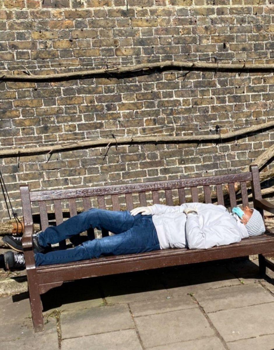 Лондон карантин фото