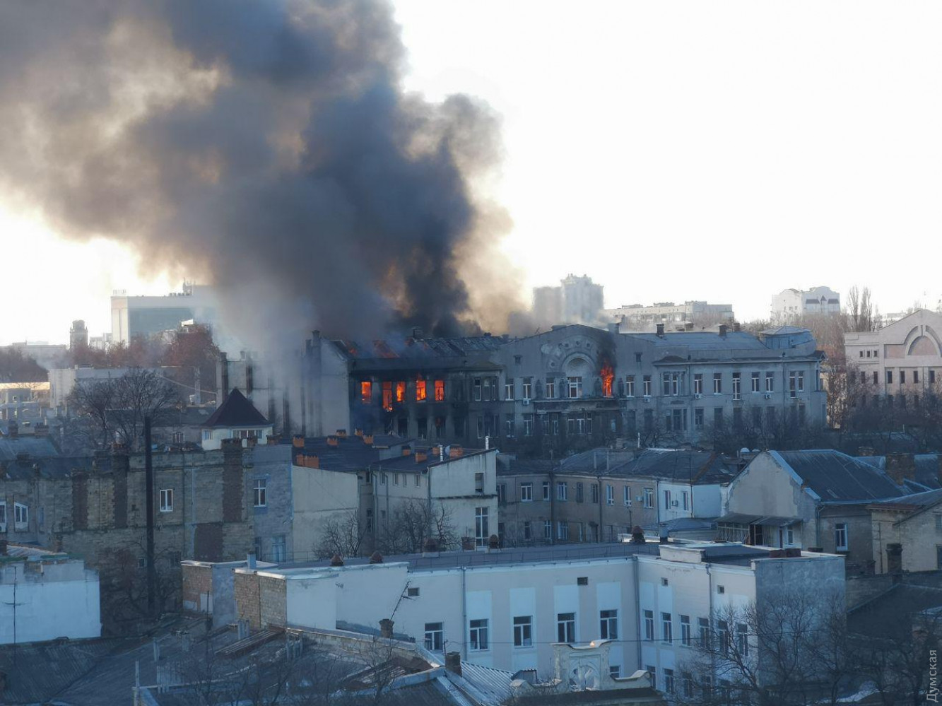 Город у моря огня. Кто был наказан за громкие пожары в Одессе