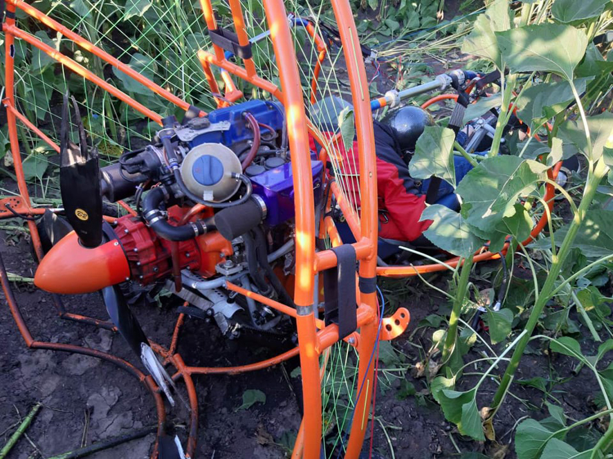 На Полтавщине произошло крушение дельтаплана,  есть жертвы