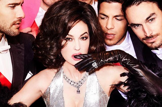 Моника Беллуччи снялась для глянца в культовом образе из клипа Мадонны