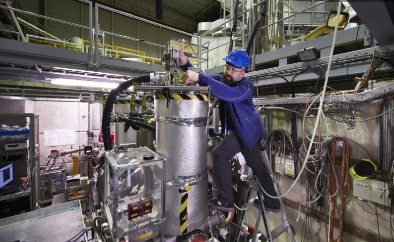 Ученые в ЦЕРН использовали антивещество для охоты на темную материю