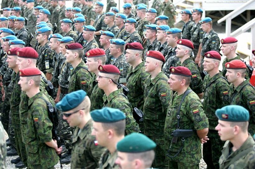 Штаб литовско-польско-украинской бригады официально открыт