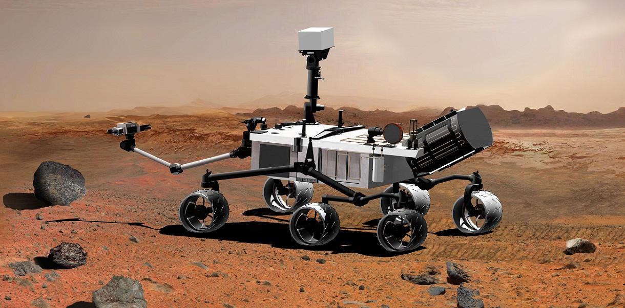 Curiosity прислал 360° фото Марса