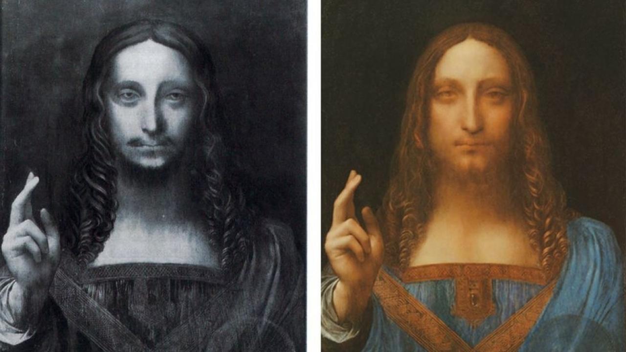 Самую дорогую картину да Винчи выставят в Лувре Абу-Даби