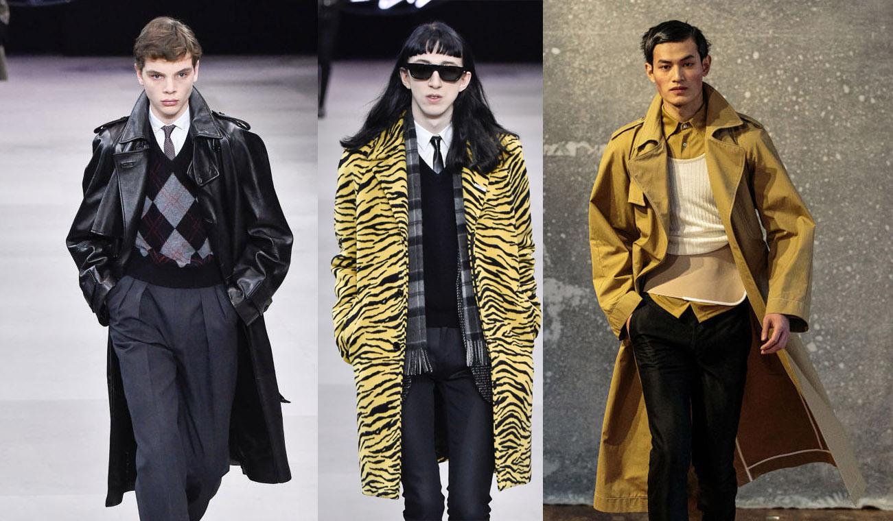 Длинный пуховик и объемный плащ. ТОП-7 ключевых трендов мужской моды осе...