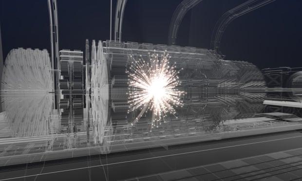 Разработчики Большого адронного коллайдера хотят построить новый, в 4 ра...