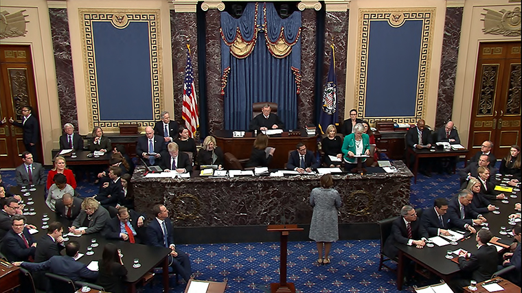 Импичмент отменяется. Сенат оправдал Трампа