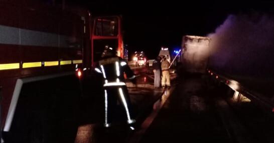 В России сгорел автобус, который ехал из Донецка: пострадали 5 украинцев