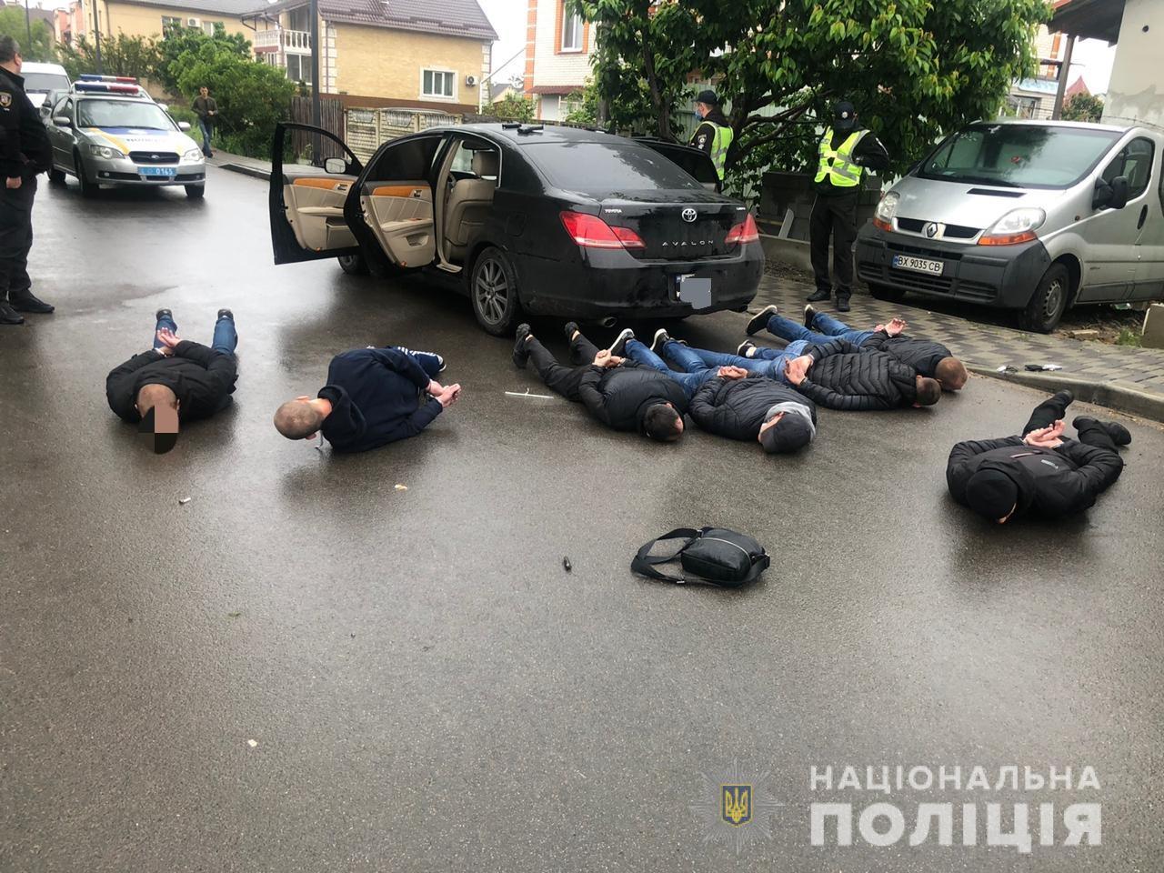 В Броварах произошла перестрелка между перевозчиками: полиция задержала...