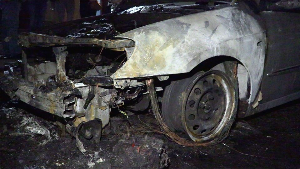 """Обнародовано видео момента поджога автомобиля программы """"Схемы"""""""