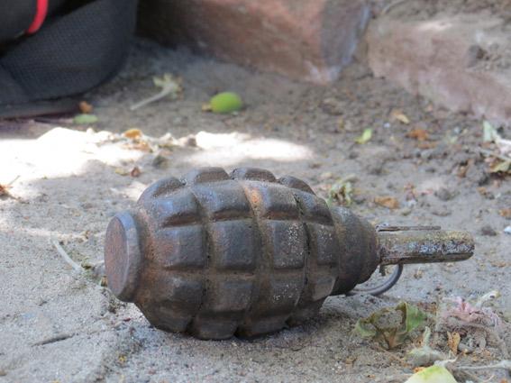 В Киеве возле детсада нашли немецкую гранату времен Первой мировой войны