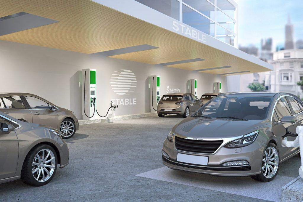 Volkswagen протестирует роботов для зарядки электромобилей