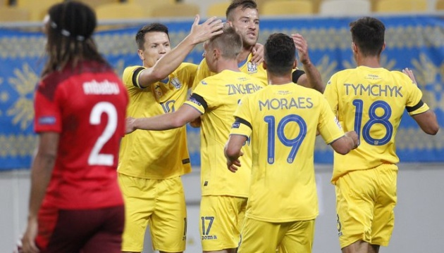 Украина в Лиге наций добыла непростую победу над Швейцарией со счетом 2:...