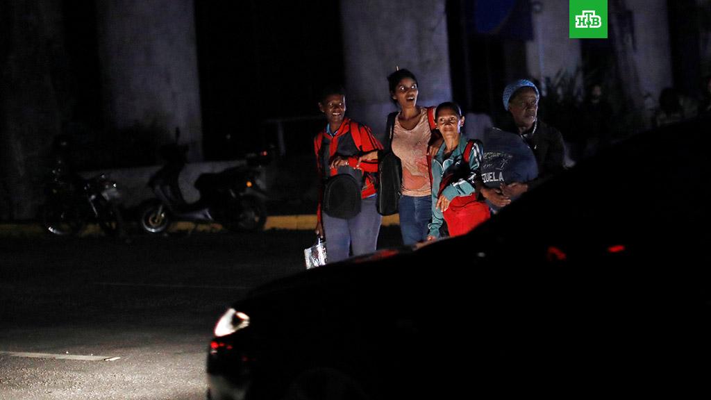 В Каракасе открыли огонь по протестующим из-за очередного блэкаута