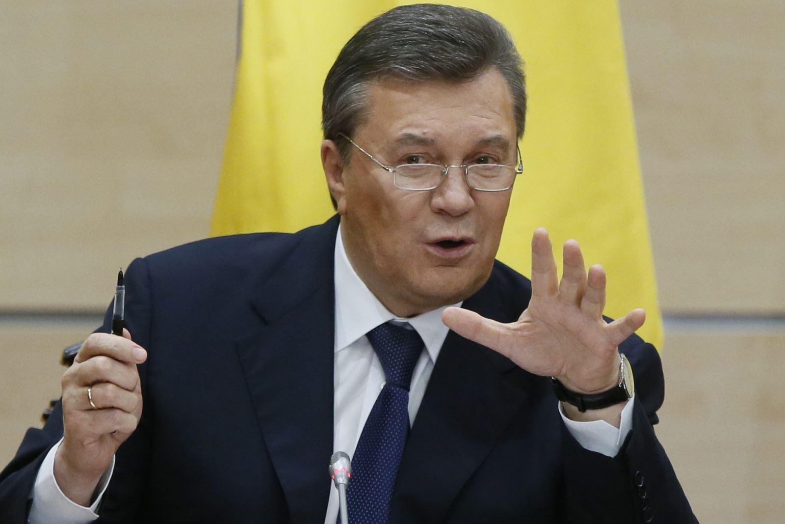 Защита Януковича отказалась принять подозрение в госизмене