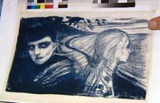 В Норвегии похищена еще одна литография Эдварда Мунка