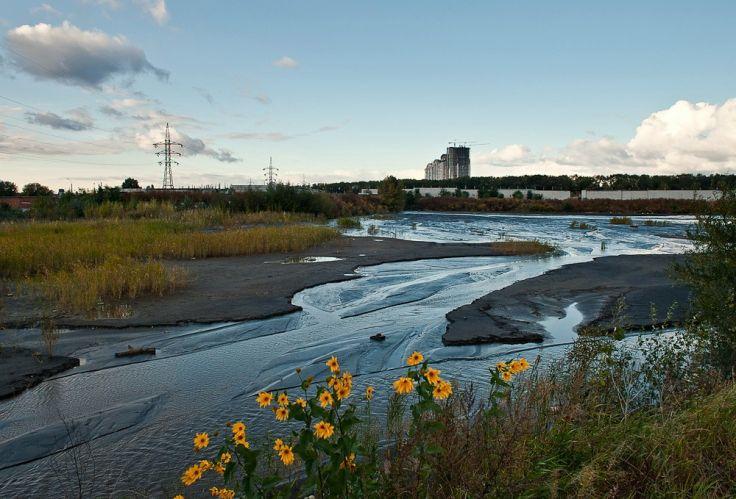 Кличко обещает предотвратить экологическую катастрофу на левом берегу Ки...