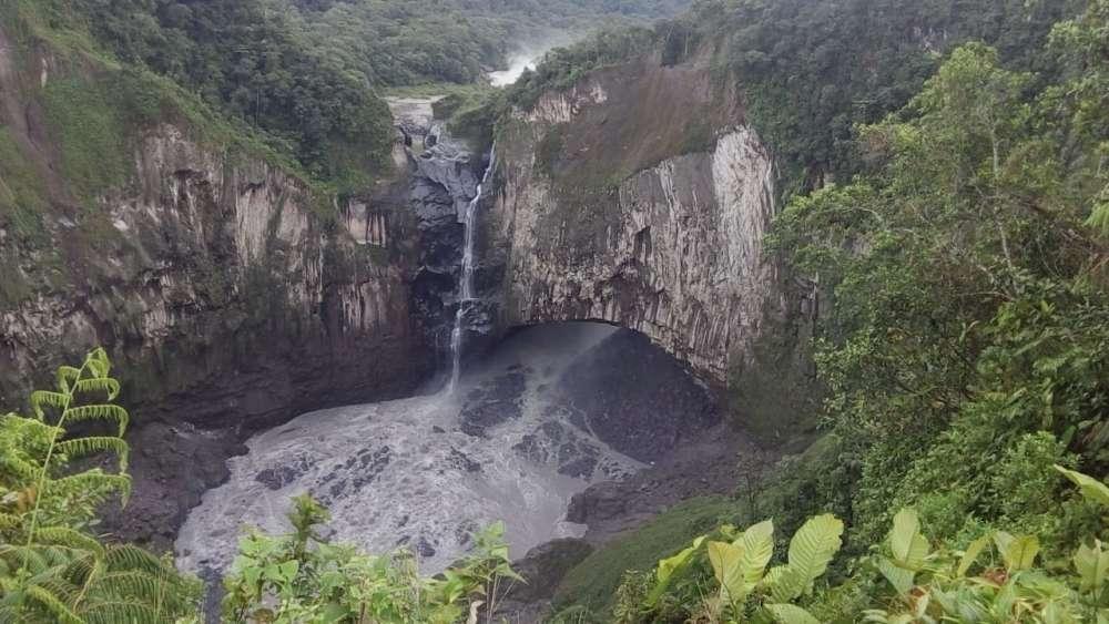 В Эквадоре навсегда исчез 150-метровый водопад