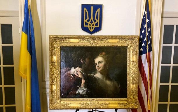 Похищенная в 1943 году нацистами картина возвращается в Украину