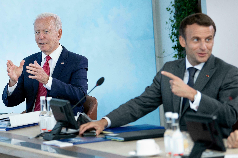 Байден проведет переговоры с Макроном на фоне кризиса из-за подлодок