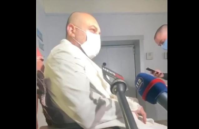 """""""Пытались нас убить"""". Избитый во время нападения на автобус под Харьково..."""