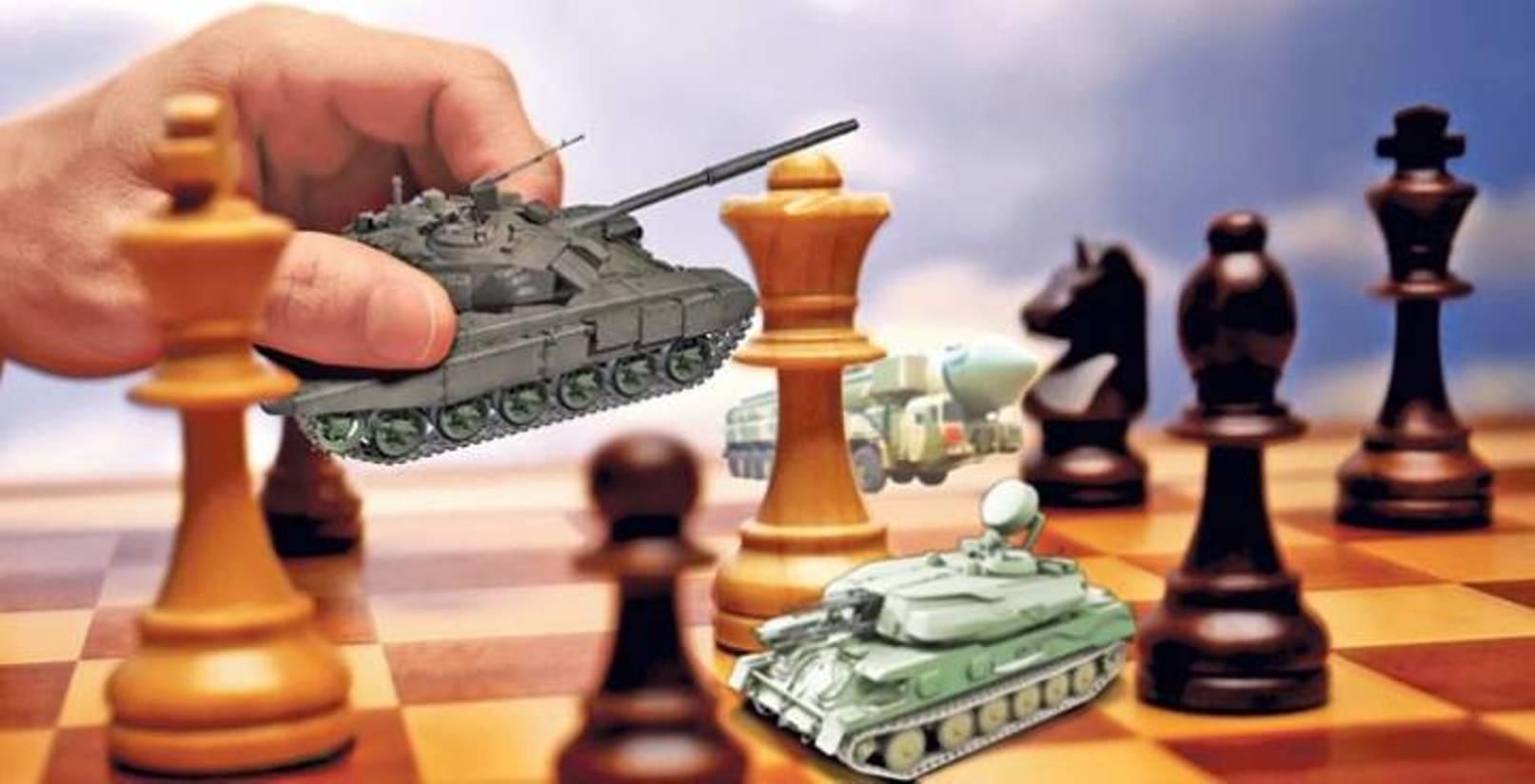 Запад vs Россия. Геополитические шахматы и место Украины в глобальной игре сверхдержав
