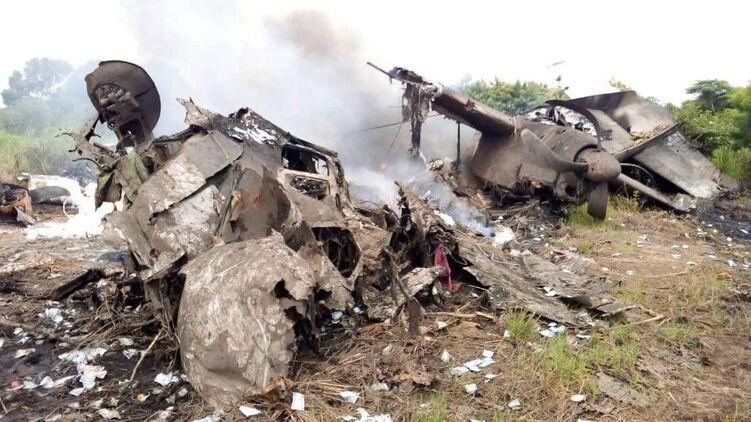 В Южном Судане разбился Ан-26. Погибли 17 человек, один выжил