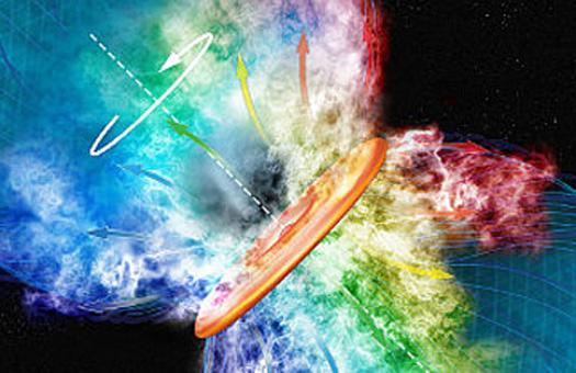 Астрофизики объяснили механизм рождения гигантских звезд