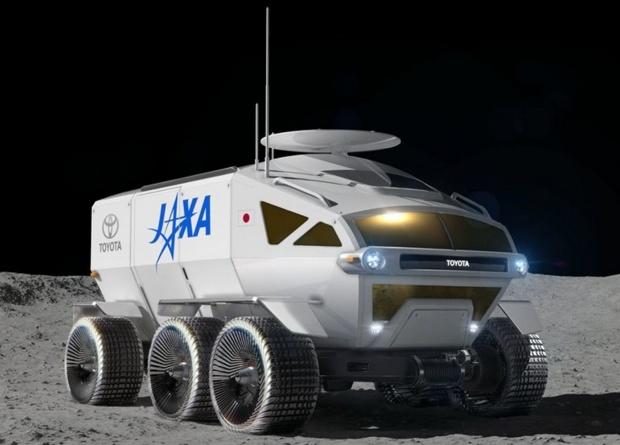 Toyota разработает лунный автомобиль