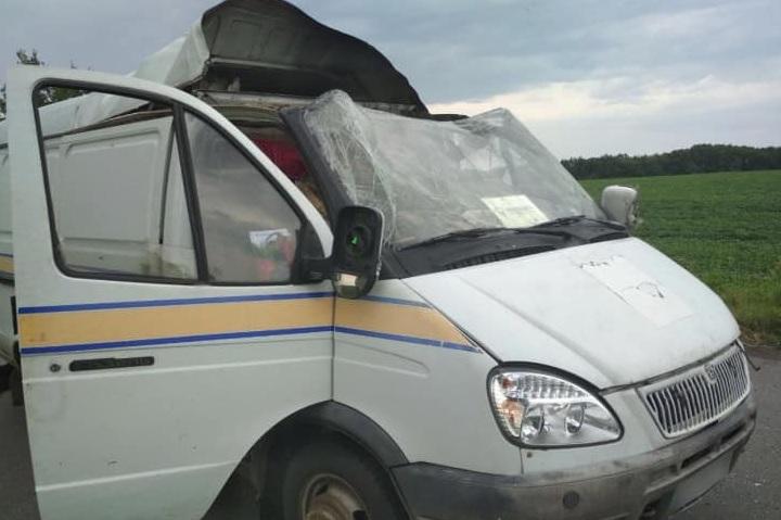 Задержаны подозреваемые в подрыве и ограблении авто Укрпочты