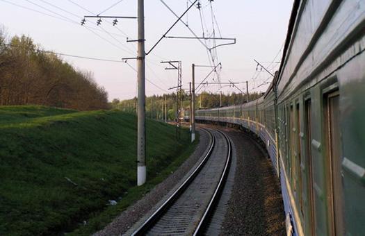 Связанный проводниками пассажир выпал из поезда и разбился