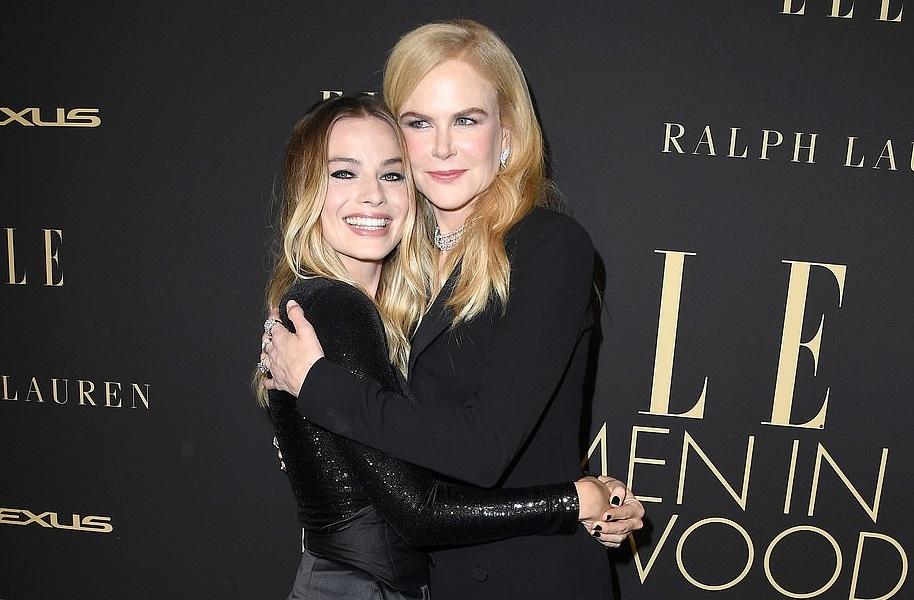 Дамы в черном: голливудскую вечеринку Elle посетили Марго Робби и Николь...
