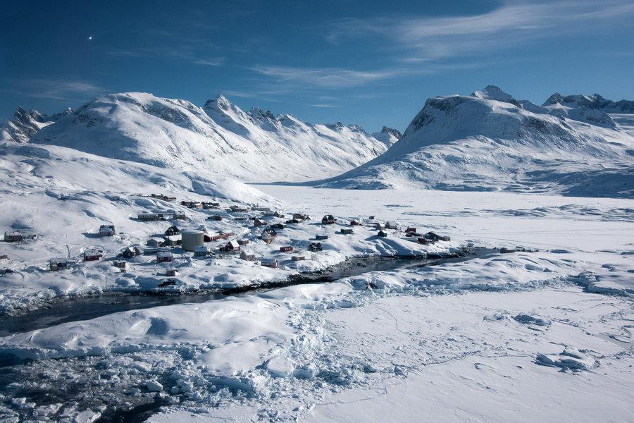 """Загадочная """"темная зона"""" в Гренландии грозит человечеству, - ученые"""
