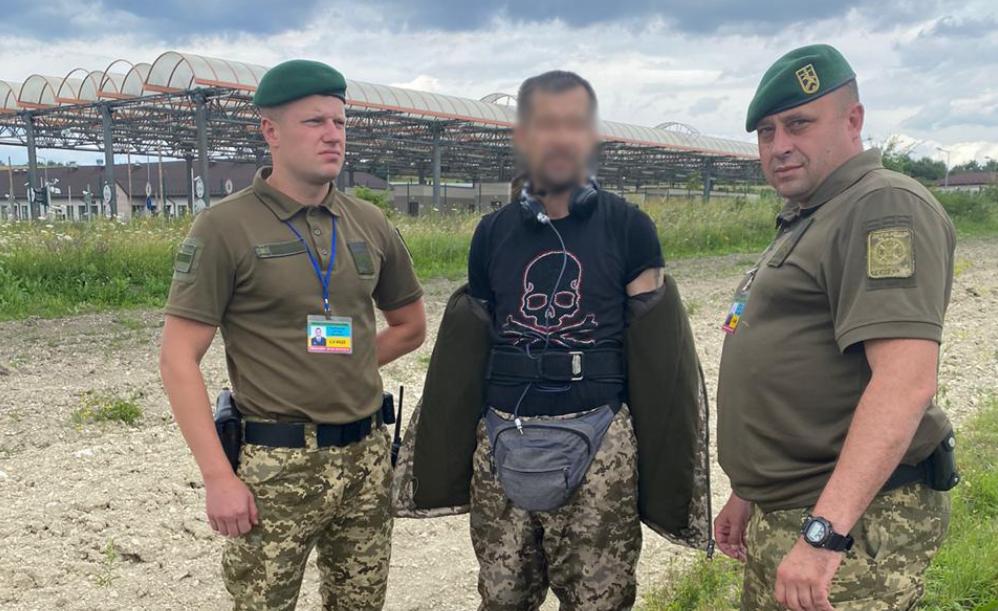 На польско-украинской границе поймали латыша в форме пограничника