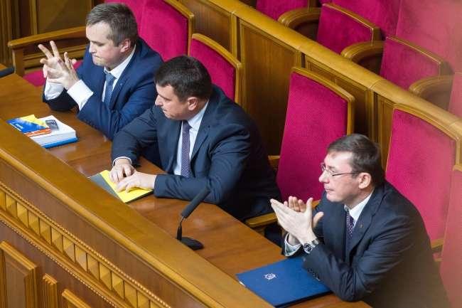 Депутаты вызвали в Раду Луценко, Сытника и Холодницкого