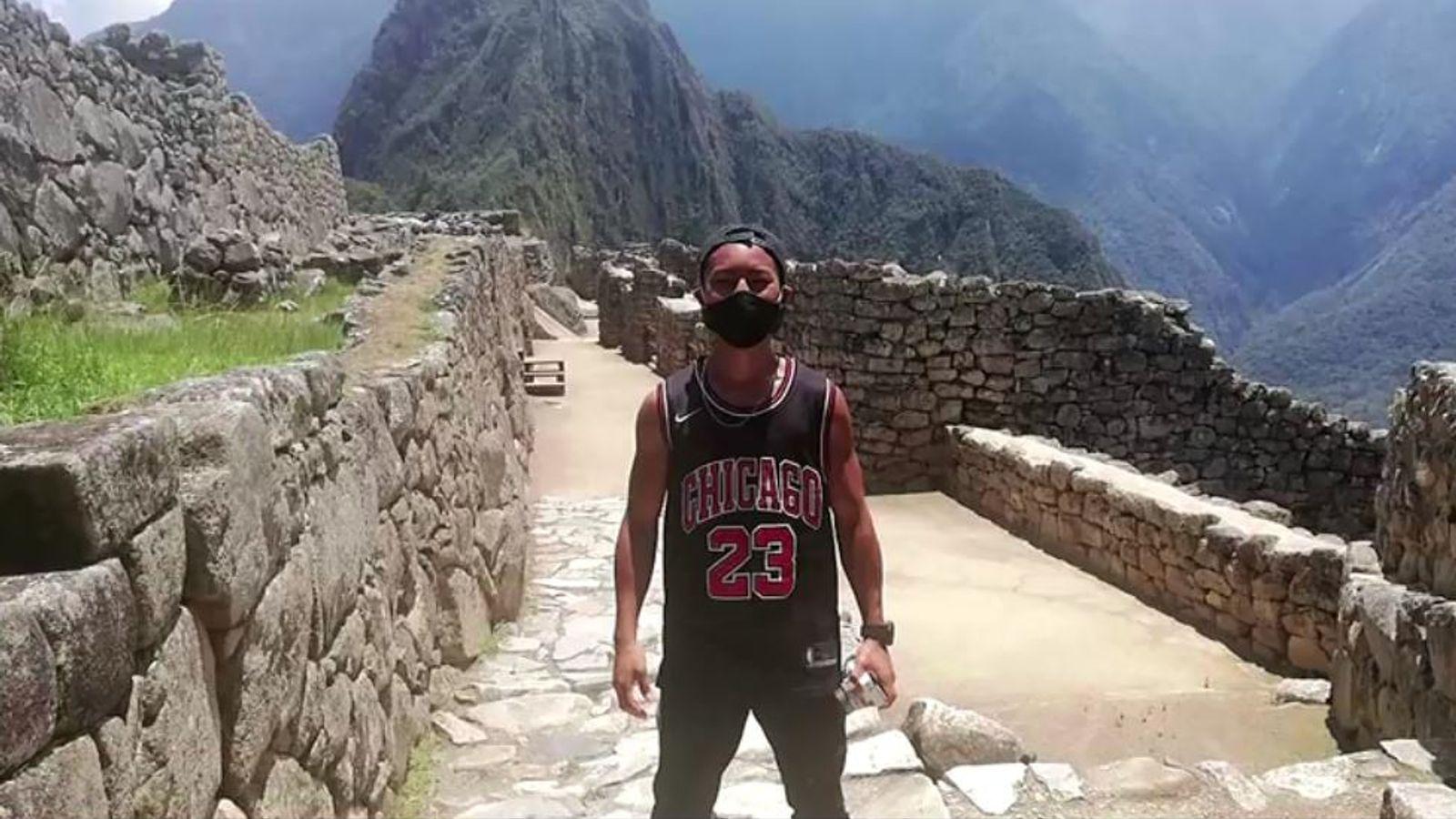 Японец стал единственным посетителем Мачу-Пикчу после 7-месячного ожидан...