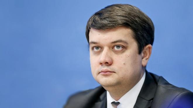 Разумков считает неправильным предлагать кандидата на премьерство до выб...