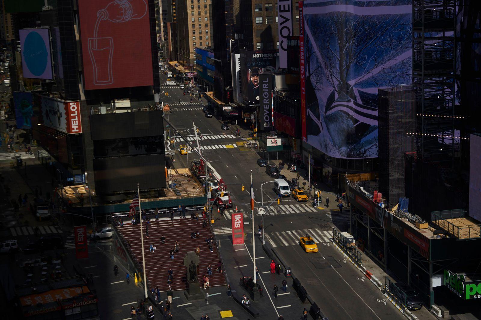 Коронавирус в США: в штате Нью-Йорк суточная смертность достигла максиму...
