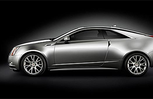 Cadillac представила купе на базе модели CTS
